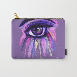 Rainbow anime eye Carry-All Pouch