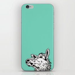 Tuquoise Elk iPhone Skin