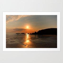 Beach Sunsets Art Print