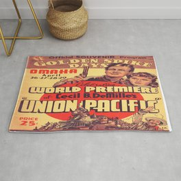 Vintage poster - Union Pacific Rug