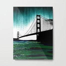Blacken Gate-San Francisco Metal Print