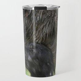 Irish Wolfhound with puppy Travel Mug