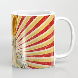 Scary vintage circus clown Coffee Mug