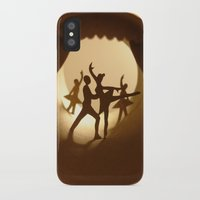 ballet iPhone & iPod Cases featuring Ballet by Anastassia Elias