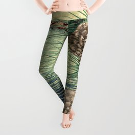 A Hidden View of O-nen Shore Leggings