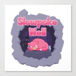 Slowpoke Well Canvas Print