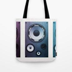 Stereo Sound Tote Bag