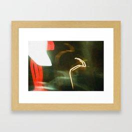 Film Blur Framed Art Print
