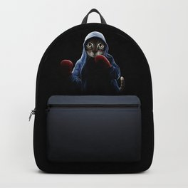 Boxing Cool Cat Backpack