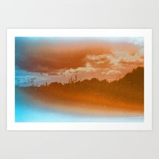 this place may only be found in your dreams Art Print