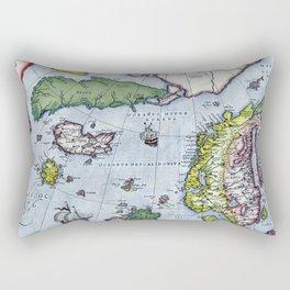 Map of Northern Europe - Ortelius - 1570 Rectangular Pillow
