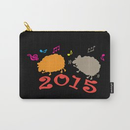 Dancing sheep 2015 year of the animal Carry-All Pouch