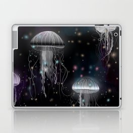 Night Jellyfish Laptop & iPad Skin