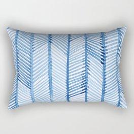 Blue Quills Rectangular Pillow