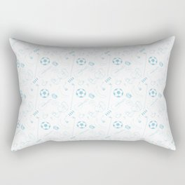 Blockhead Endpapers Rectangular Pillow