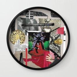 Scorpio Intuitive Collage Wall Clock