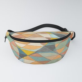 Triangles and Circles Pattern no.23 Fanny Pack