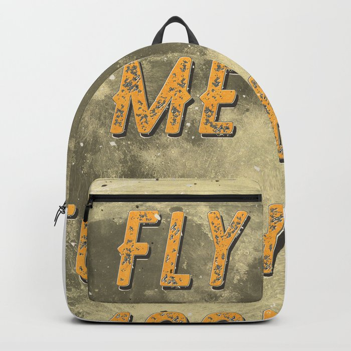 Fly me to the Moon - A Hell Songbook Edition Backpack