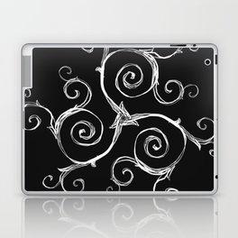 Magic Mandala Twisted Triskele Laptop & iPad Skin
