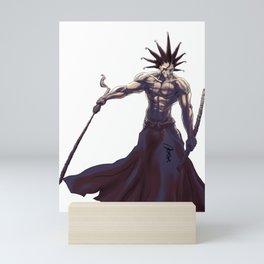 Kenpachi Zaraki of Bleach Mini Art Print