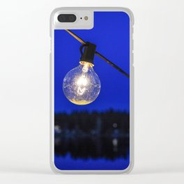 String of Lights Clear iPhone Case