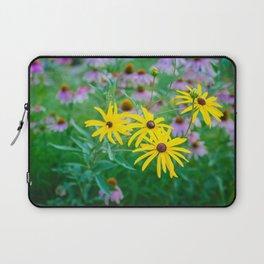 Wildflowers at Dusk Laptop Sleeve
