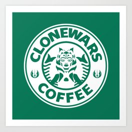Ahsoka Coffee Art Print