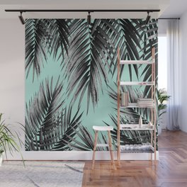 Palm Leaf Jungle Vibes #2 #tropical #decor #art #society6 Wall Mural