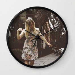 the darkness is my light... Wall Clock