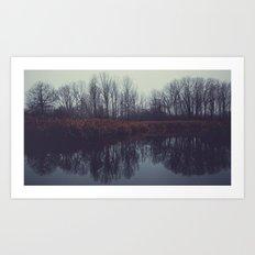 the trees II Art Print