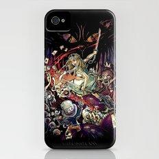 Zombies in Wonderland iPhone (4, 4s) Slim Case