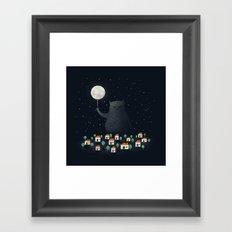 Good Night, Sleep Tight Framed Art Print