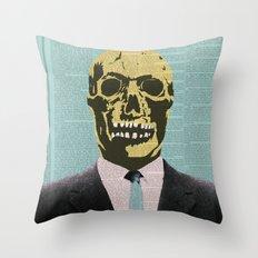 Working Man Throw Pillow