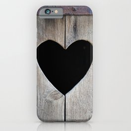 Love asks nothing iPhone Case