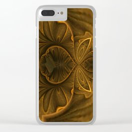 Frilly Fractal 2 Clear iPhone Case