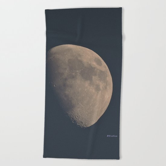 November Half Moon Beach Towel