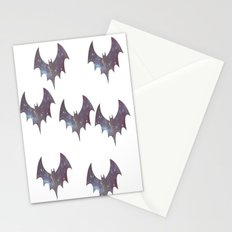 Space bats Stationery Cards