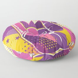 Rock and Roll Forever Floor Pillow
