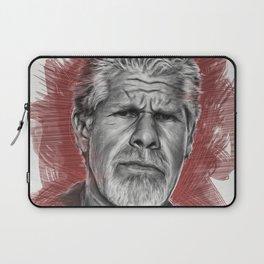 Clay Morrow Portrait -SOA 01 Laptop Sleeve