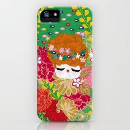 Kokeshina - Printemps / Spring iPhone Case