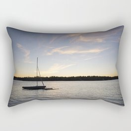 Come Sail Away. Rectangular Pillow