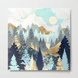 Forest Vista Metal Print