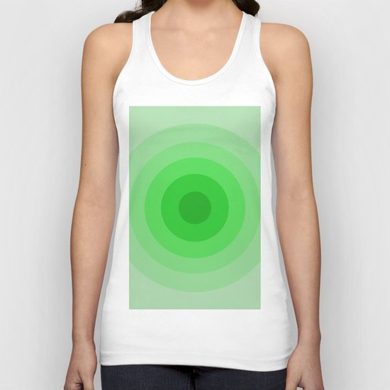Shades Of Green Unisex Tank Top