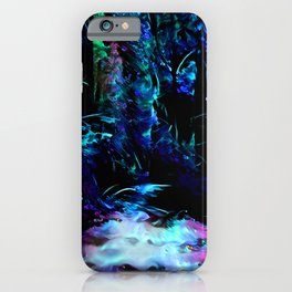 Blacklight Dreams of the Forest iPhone Case