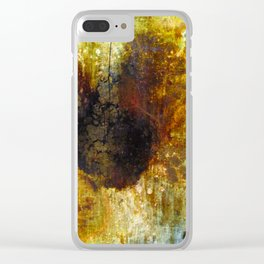 The Sunflower Clear iPhone Case