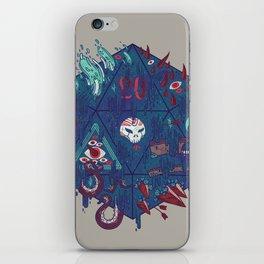 Die of Death iPhone Skin