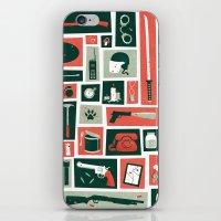 walking dead iPhone & iPod Skins featuring The walking dead by Felix Rousseau