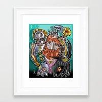 return Framed Art Prints featuring return by arteology