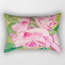 Her Mother's Gladiolus Rectangular Pillow