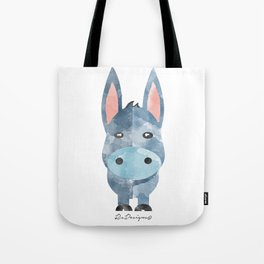 Water Colour Baby Donkey Tote Bag
